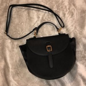 Black handbag perfect size for going out